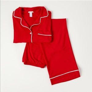Eberjey Gisele Pajama Set Red